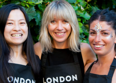 The London Glitter Bar Team